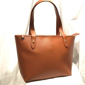 ⭐️Like New- Ralph Lauren -Camel Colored Handbag